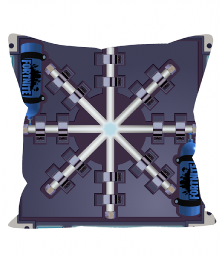 "12"" Sofa Cushion / Throw Pillow Chiller Trap Design Inspired by Fortnite"